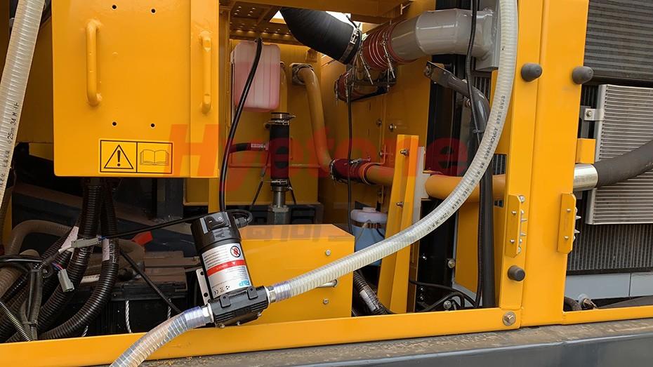 工程机械油品输送