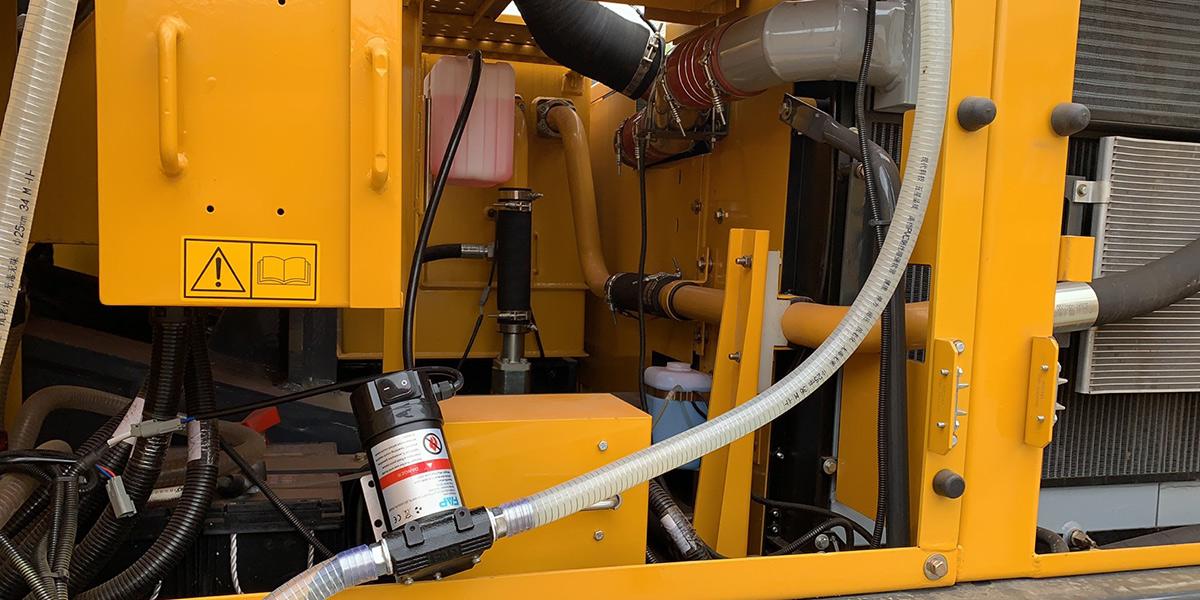 工程机械油品输送解决方案