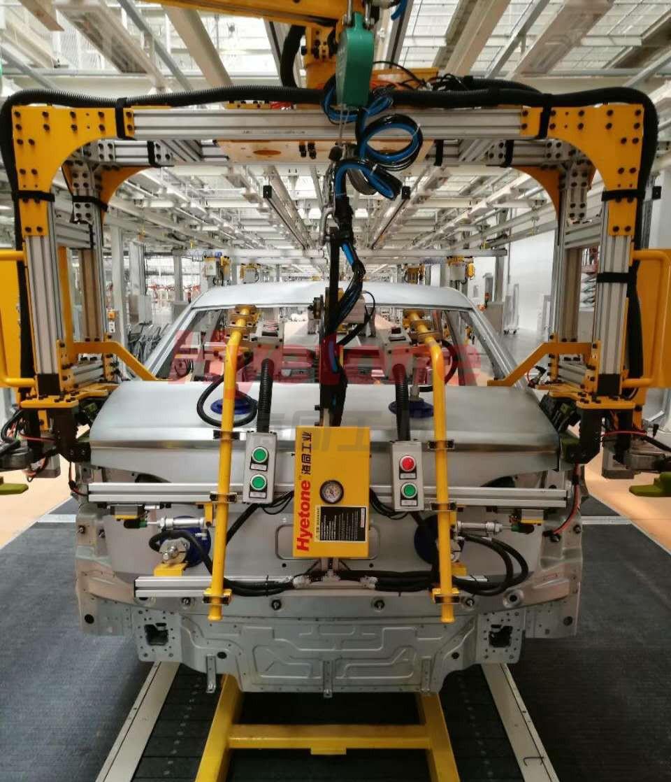 焊装调整线柔性装配工具方案说明图