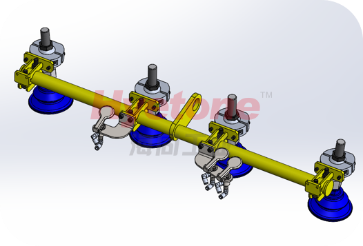 AMB轮毂加工助力机械手