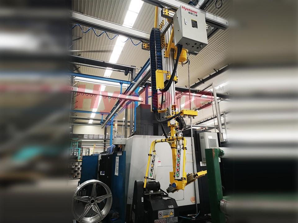 AMB轮毂搬运助力设备