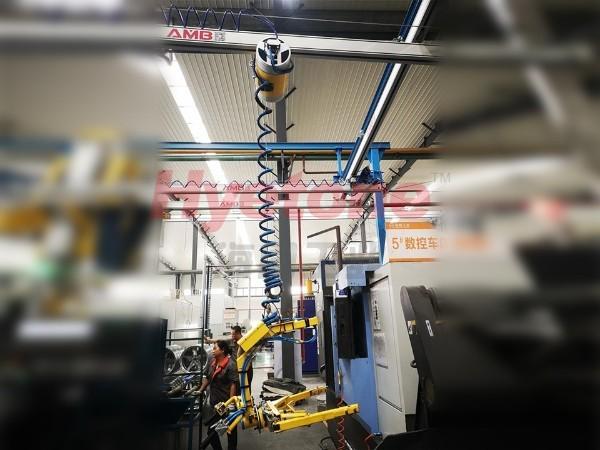 AMB轮毂加工助力机械手-轮辐上下件