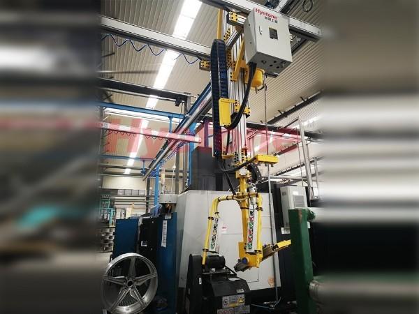 AMB轮毂加工助力机械手-轮毂上下件T型臂