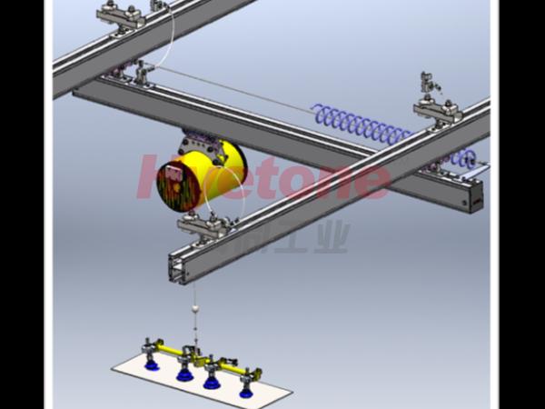 AMB轮毂加工助力机械手-钢板上下件
